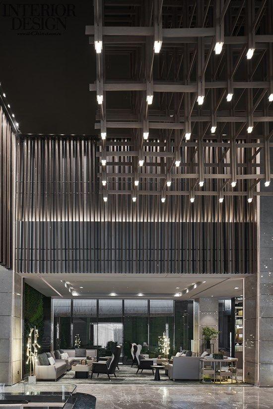 Modern Contemporary Resort Lobby