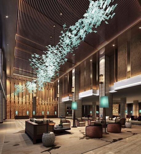 Grandeur Contemporary Hotel Lobby Interior