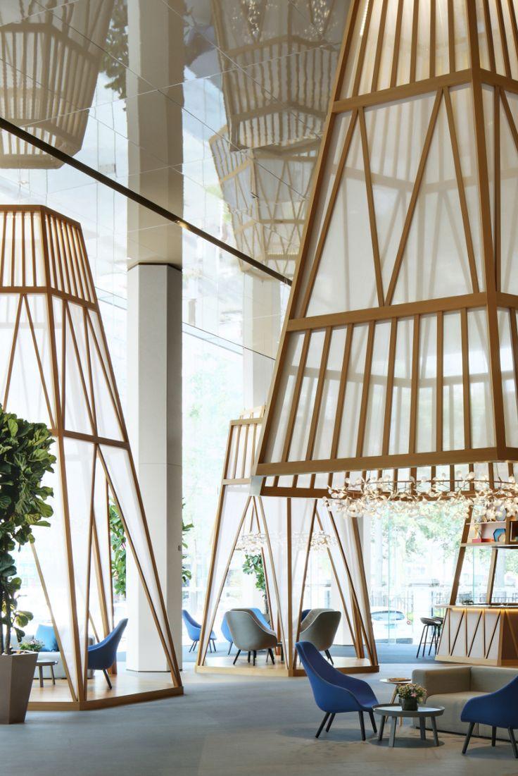 Refreshing Open Lounge Hotel Design