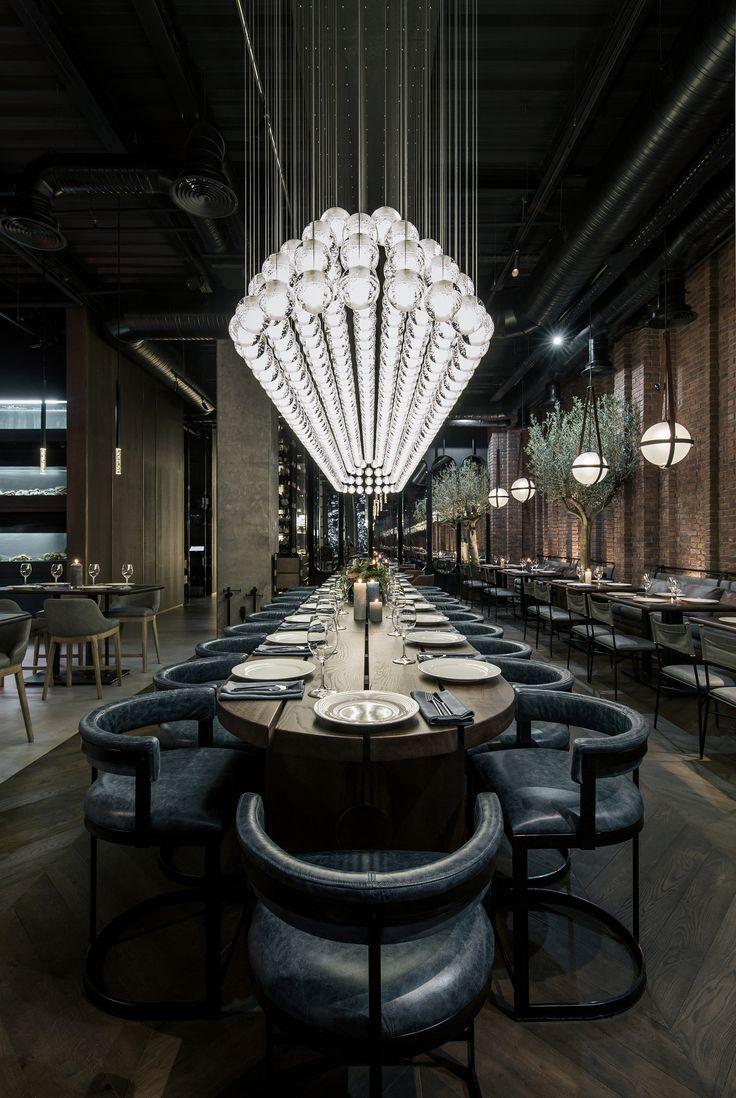 Hotel All Day Dining Restaurant Lighting
