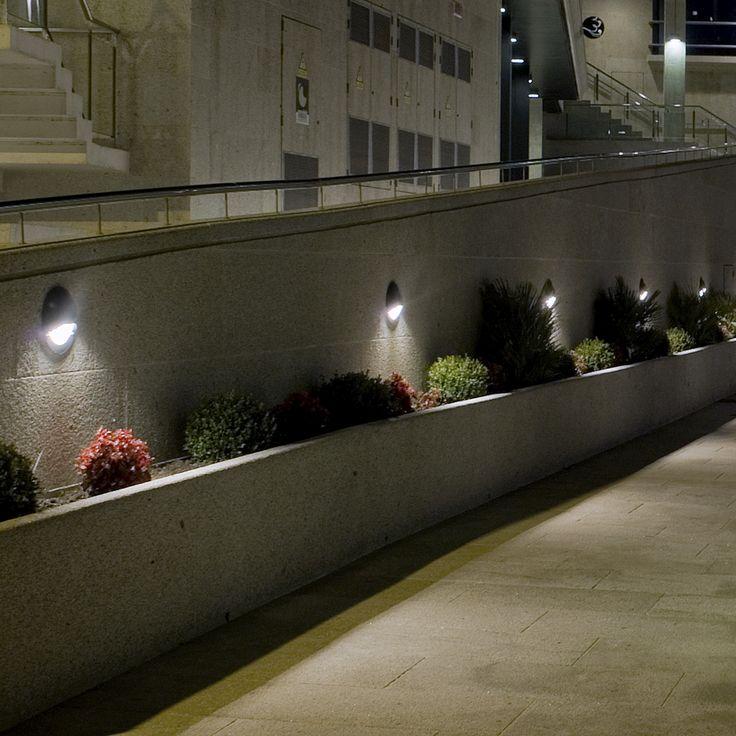 Pathway Wall Recess Light