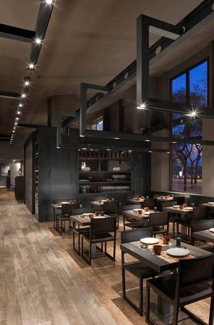 Modern Restaurant Lighting