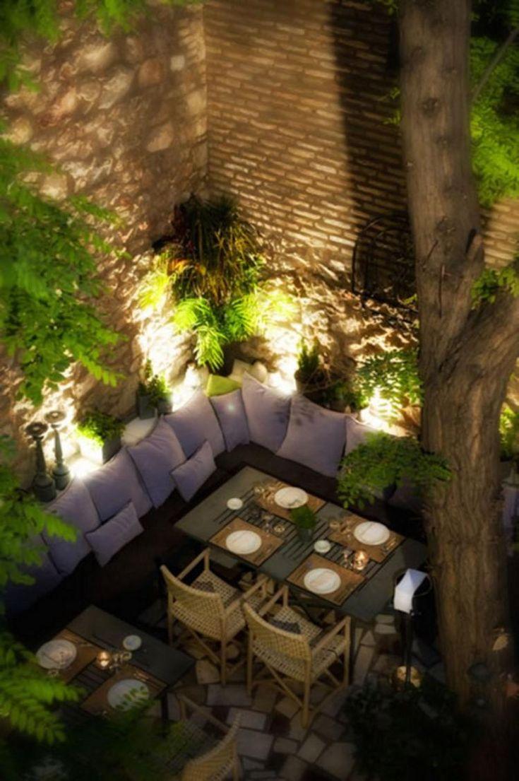Garden Design Restaurant Lighting