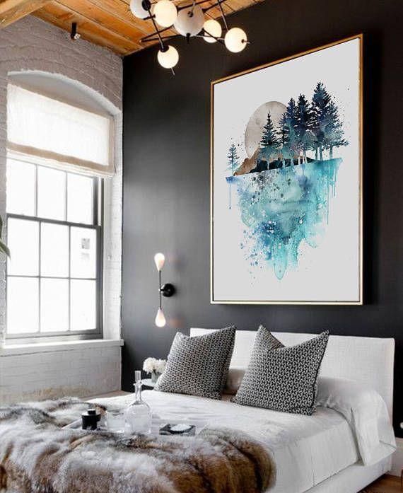Modern New Yorker Interior Style Guest Room Lighting