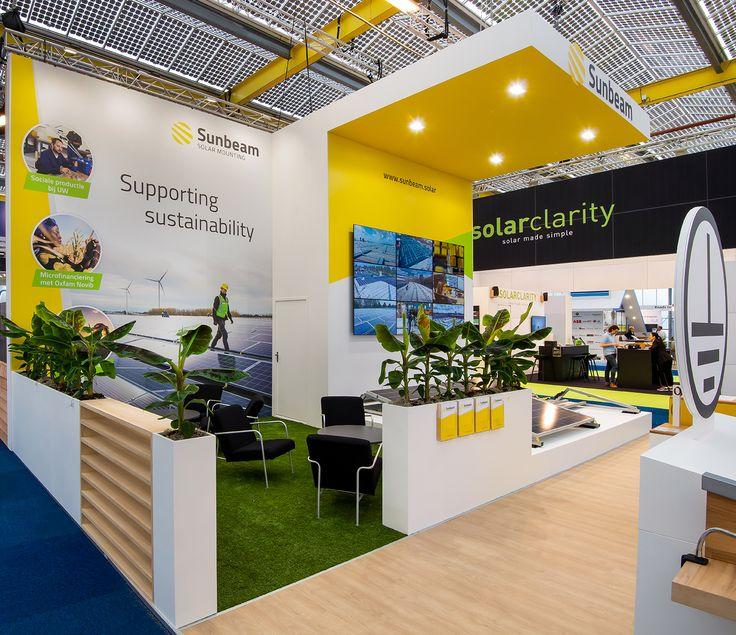 Solar Exhibition Booth Design