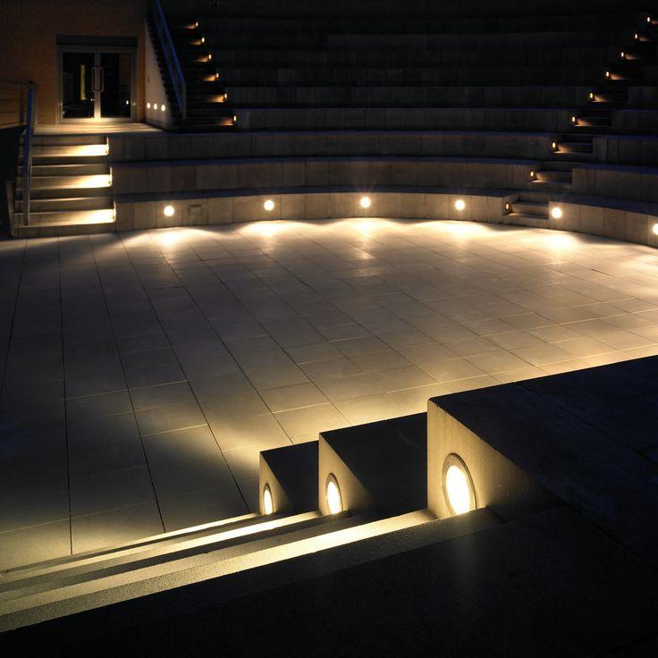 Outdoor Auditorium Lighting