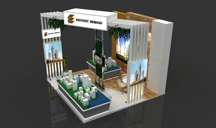 Developer Company Exhibition Booth