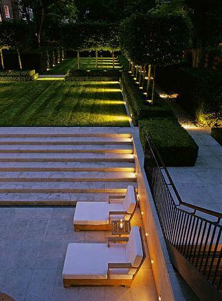 Landscape Circulation Area Lighting