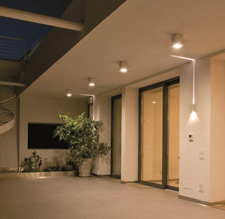 Modern Terrace Lighting