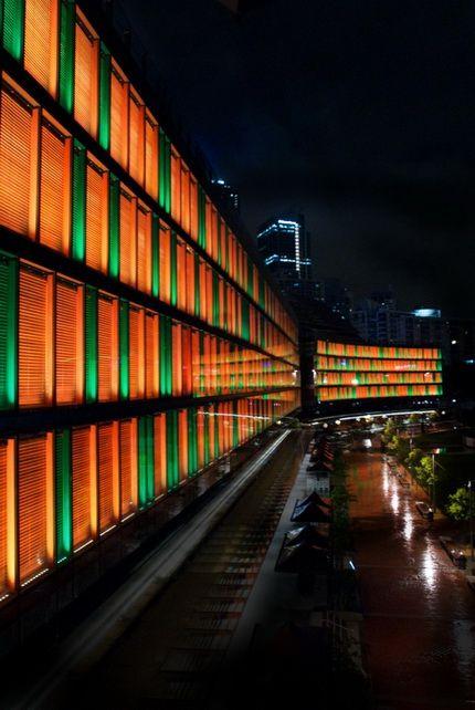RGB Linear Wallwasher Facade Lighting