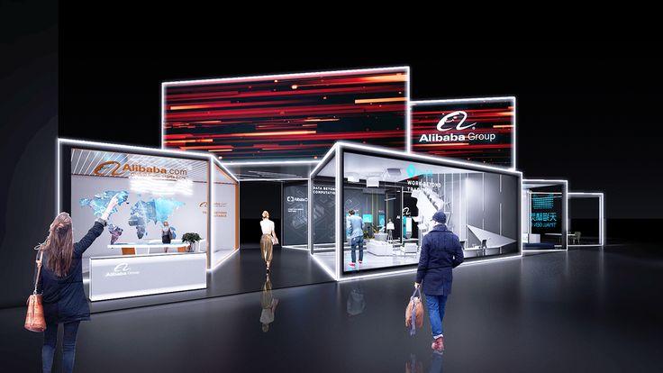 Alibaba Exhibition Booth Design