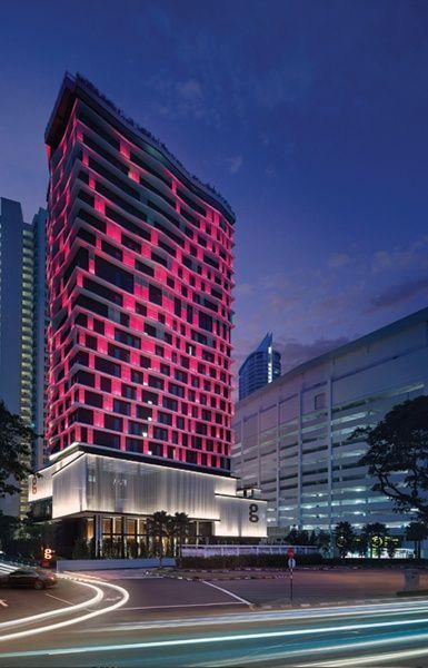 G Hotel Kelawai - Facade Lighting