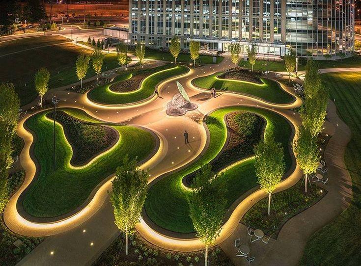 Organic Landscape Lighting