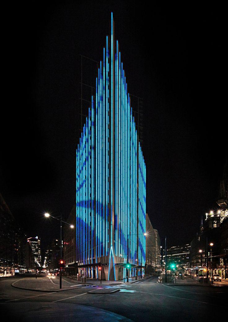 Linear Facade Lighting