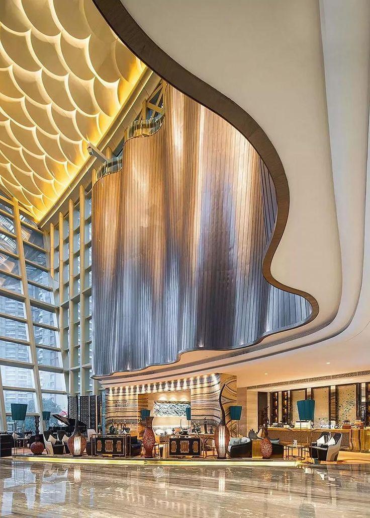 Luxury Hotel Lobby Lighting