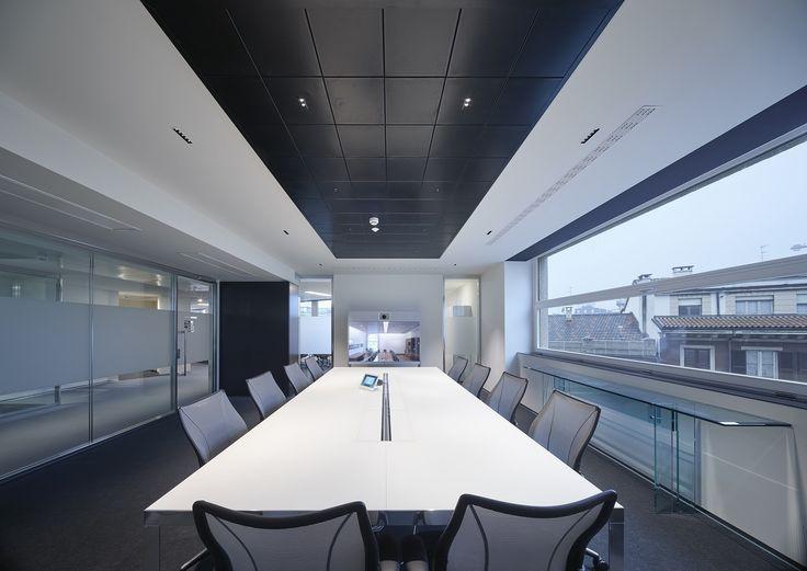 Sleek Modern Office Lighting