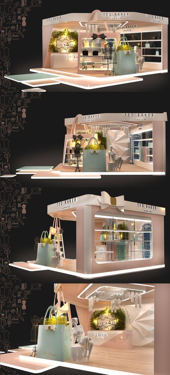 Fashion Handbag Exhibition Booth