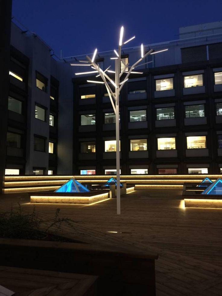 Tree shaped Pole Lights