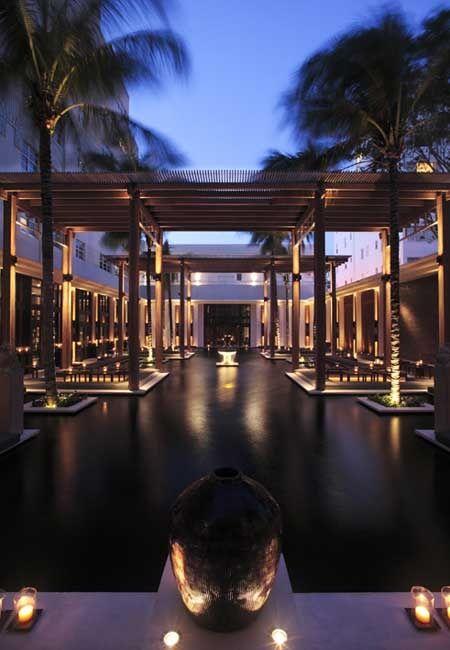 Resort Landscape Lighting