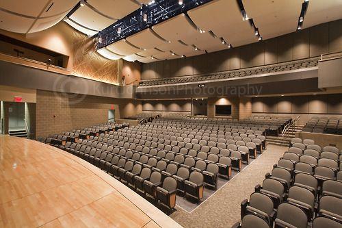 Modern Auditorium Lighting