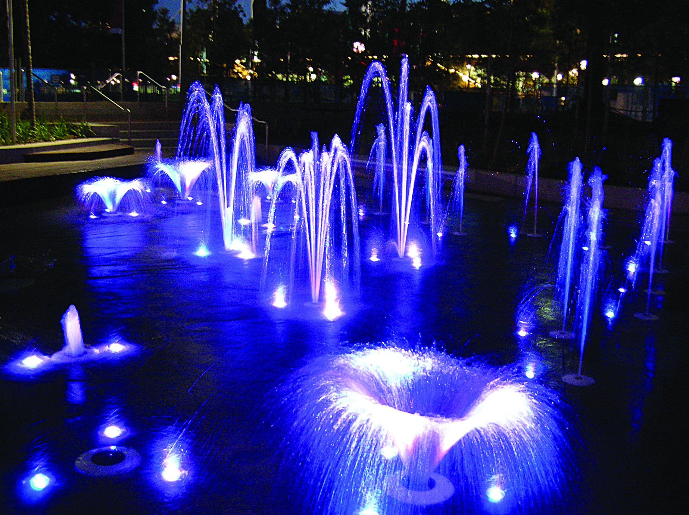 Fountain Lighting Designs